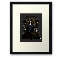 Sherlock Holmes: Game of Thrones Framed Print