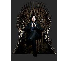 Sherlock Holmes: Game of Thrones Photographic Print