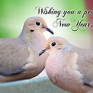 Wishing you a Peaceful New Year! by Bonnie T.  Barry