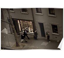 Street Walkers Poster