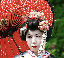 Maiko in Kyoto by gisondan