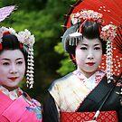 Maiko Friends by gisondan