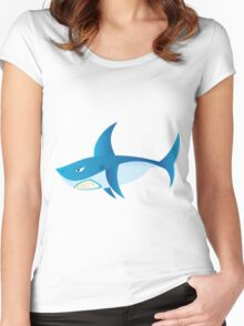 Great White Shark 3 Women's Fitted Scoop T-Shirt