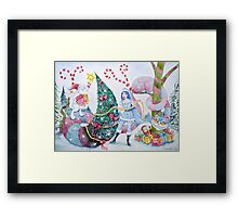 Christmas in Wonderland Framed Print