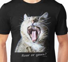 Roar or yawn? Big cat - By Micione Unisex T-Shirt