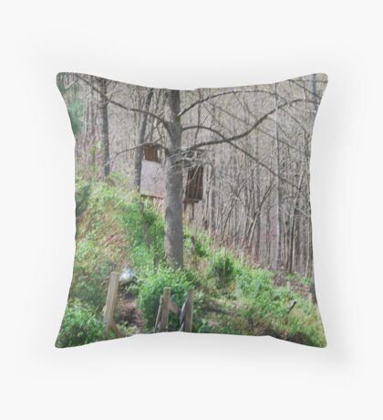 Nature's Easel Throw Pillow
