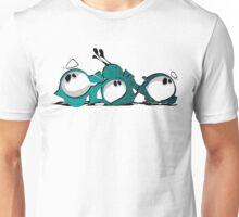 Marshmellow Men | 初年ましゅまろ [www.mrgizmoe.com] Unisex T-Shirt