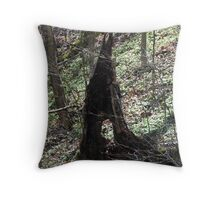 """Hollowed Out in the """"Holler"""" Throw Pillow"""