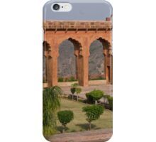 The Arches at Jaigarh Palace iPhone Case/Skin