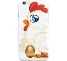 Hen with Golden Egg iPhone Case/Skin