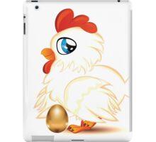 Hen with Golden Egg iPad Case/Skin