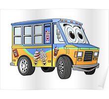 Ice Cream Food Truck Poster