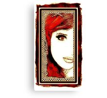Rusty Red Canvas Print