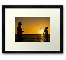 Like Father, Like Son Framed Print