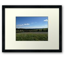 Equestrian Stables Framed Print