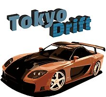 Fast and Furious - Tokyo Drift by Stav B.