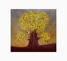 Abstract digital illustration of autumn fantasy tree Unisex T-Shirt