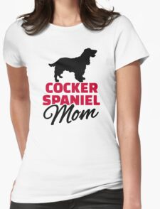 Cocker Spaniel Mom Womens Fitted T-Shirt