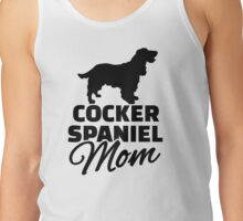 Cocker Spaniel Mom Tank Top