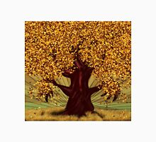 Abstract digital illustration of autumn fantasy tree 2 Unisex T-Shirt