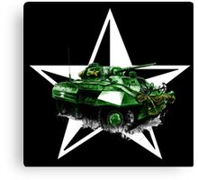 M8 Greyhound Armored Car Canvas Print