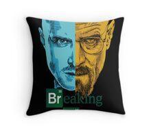 Breaking Bad -Jesse&Walter Throw Pillow