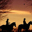 Sunrise riders  by JustPaula