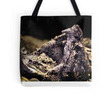 Alligator Snapper Turtle Tote Bag