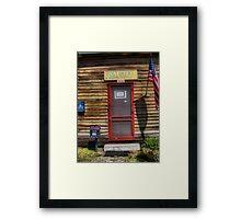 PO 35649 Framed Print
