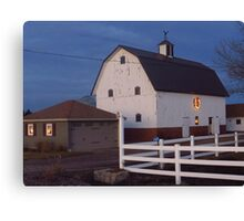 A Country Christmas in Iowa Canvas Print