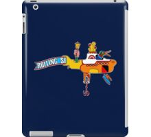 Yellow Submarine (sea of monsters) iPad Case/Skin