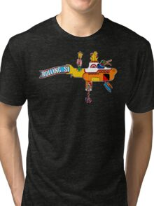 Yellow Submarine (sea of monsters) Tri-blend T-Shirt