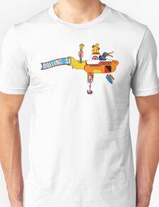 Yellow Submarine (sea of monsters) T-Shirt