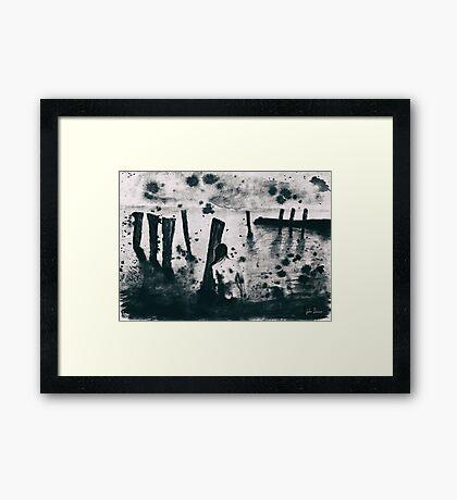 Black Sea Framed Print