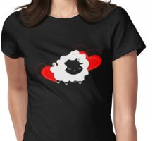 baahgoesthesheep Womens Fitted T-Shirt