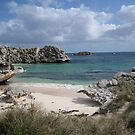 Pinkys Bay Rottnest Island 7 by Susan Moss