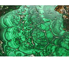 Green Curves Photographic Print