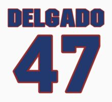 National baseball player Wilson Delgado jersey 47 by imsport