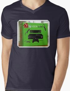 X Box Lost Mens V-Neck T-Shirt