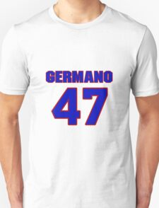National baseball player Justin Germano jersey 47 T-Shirt