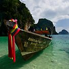 Lunching in Phang Gna Bay by Robert Mullner