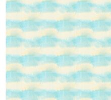 Blue watercolour wet stripes by Lemuana
