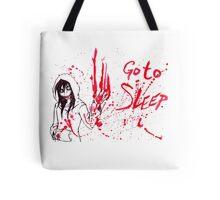 Jeff The Killer: Go To Sleep Tote Bag