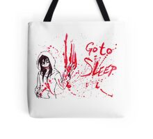Jeff The Killer: Go To Sleep Tote Bag