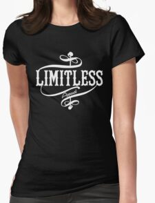 Limitless Apparel - A White Womens Fitted T-Shirt