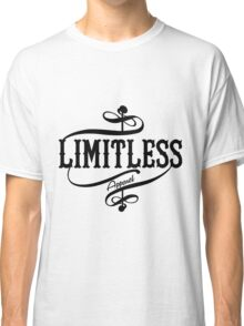 Limitless Apparel - A Black Classic T-Shirt