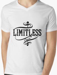 Limitless Apparel - A Black Mens V-Neck T-Shirt