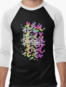 Real life zombie (pastel colors) Men's Baseball ¾ T-Shirt