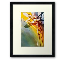 Maple Helicopters Framed Print
