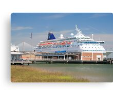 time for a cruise Canvas Print